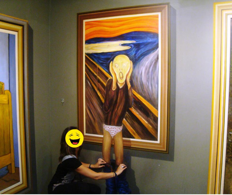Uno scherzo all'urlo di Munch